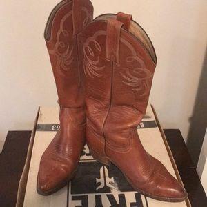 Vintage Frye Boot stock #6305, sz 8.5
